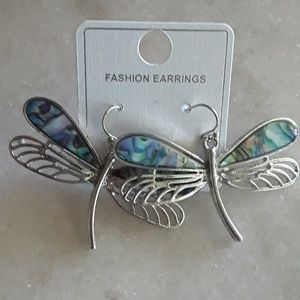 Jewelry - Fashion Dragonfly Earrings
